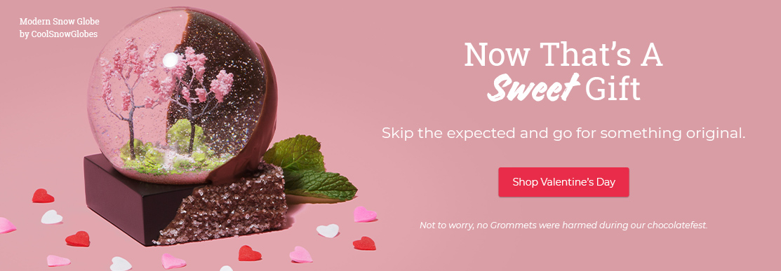 Now that's a sweet gift. Skip the expected and go for something original. Shop Valentine's Day.