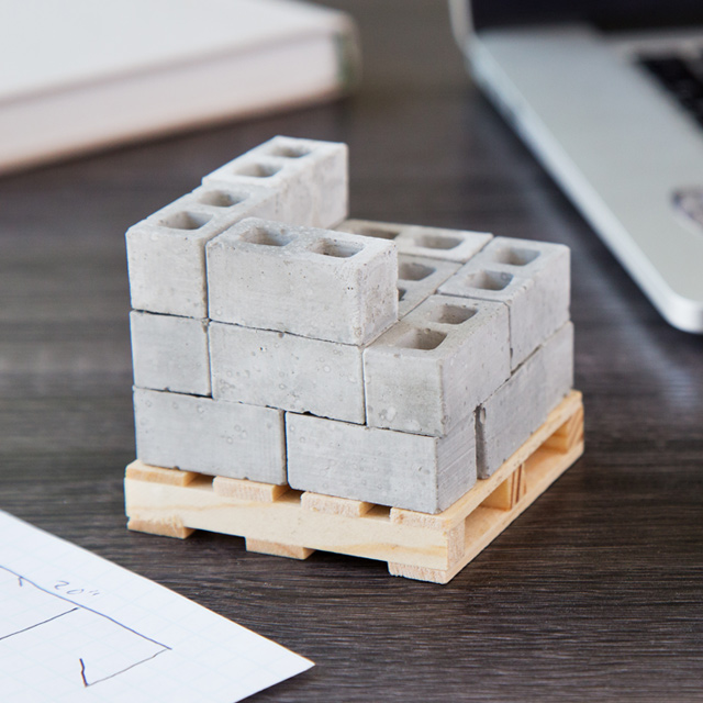1:12 Scale Mini Cinder Blocks
