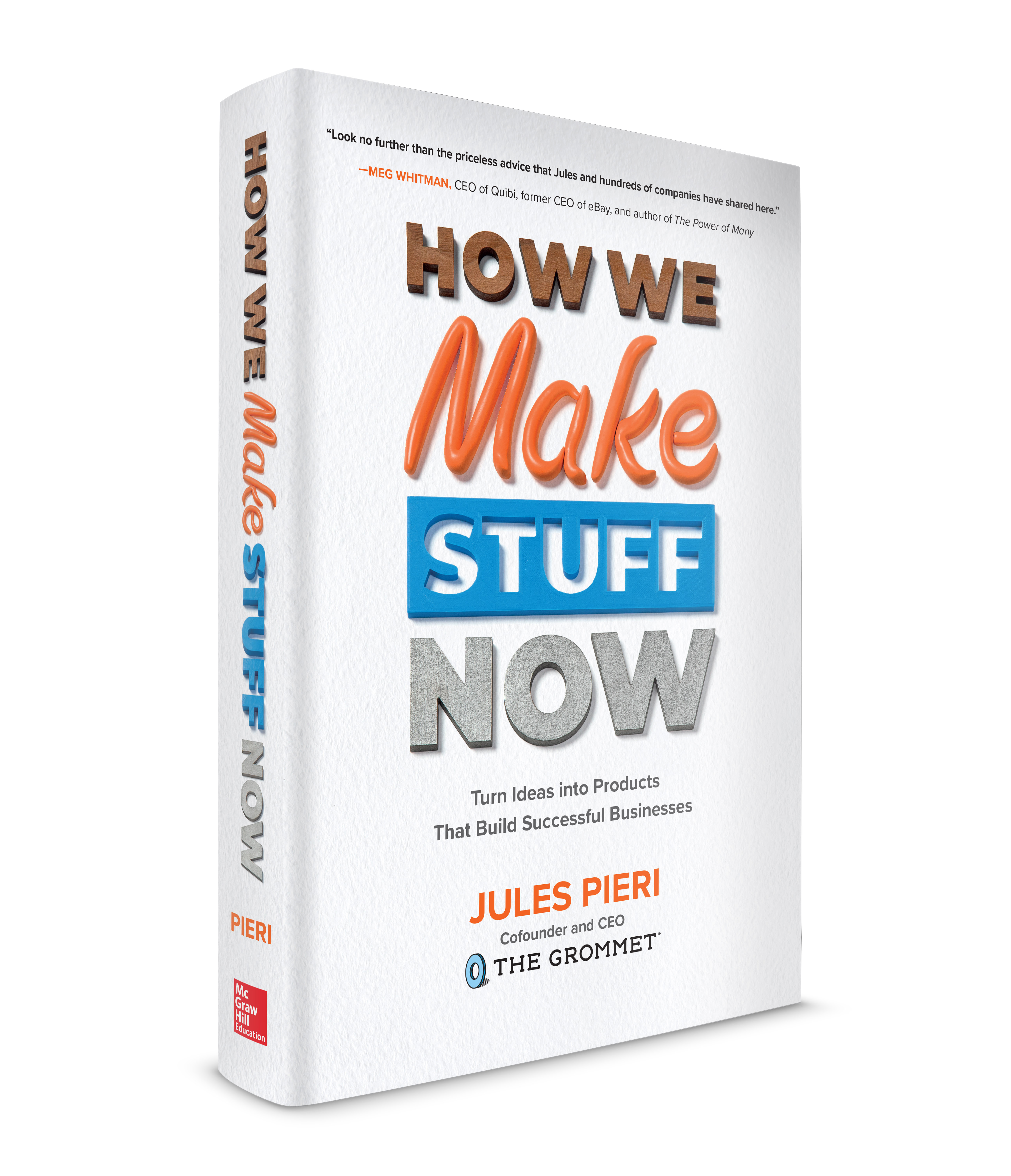 Cover of the How We Make Stuff Now book